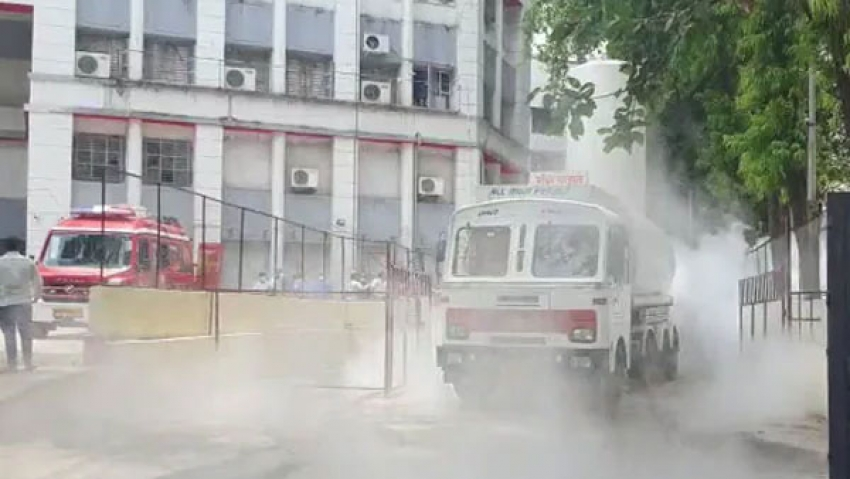 ஆக்சிஜன் பற்றாக்குறை காரணமாக கொரோனா நோயாளிகள் 24 பேர் உயிரிழப்பு